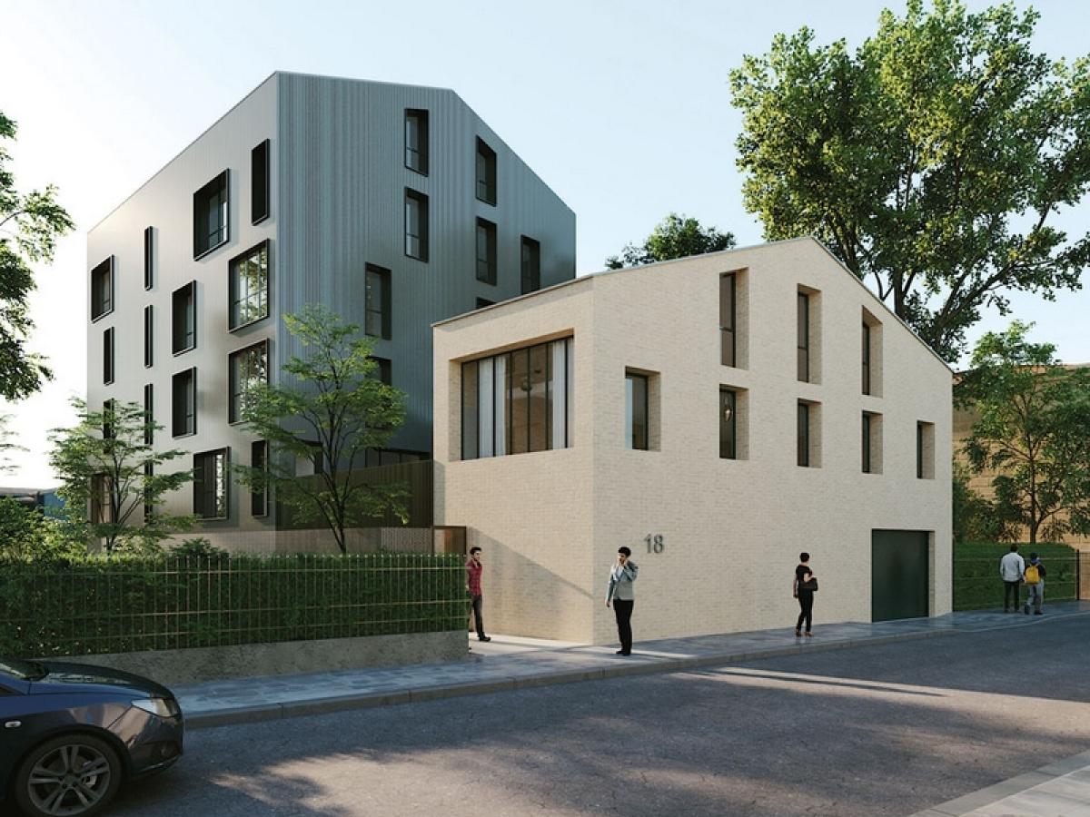 Appartement neuf à Bacalan