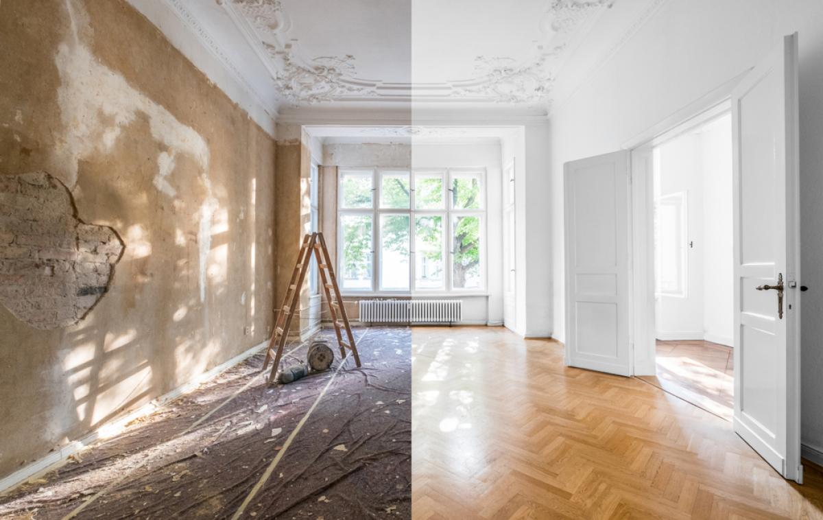 Un appartement avant et après rénovation