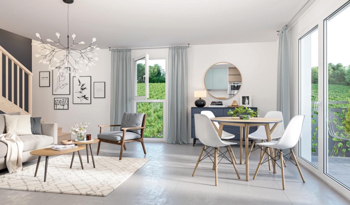 Appartement neuf à Montussan