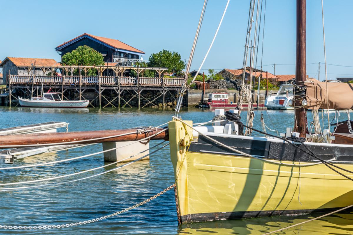 Le port de Gujan-Mestras