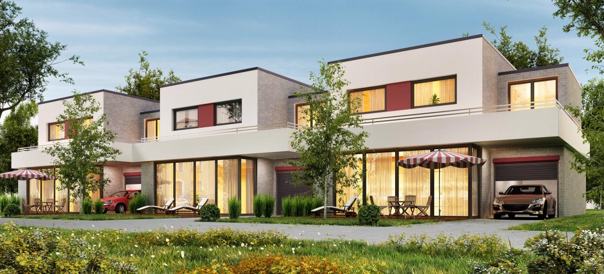 immobilier neuf bordeaux - des villas neuves dans un programme immobilier