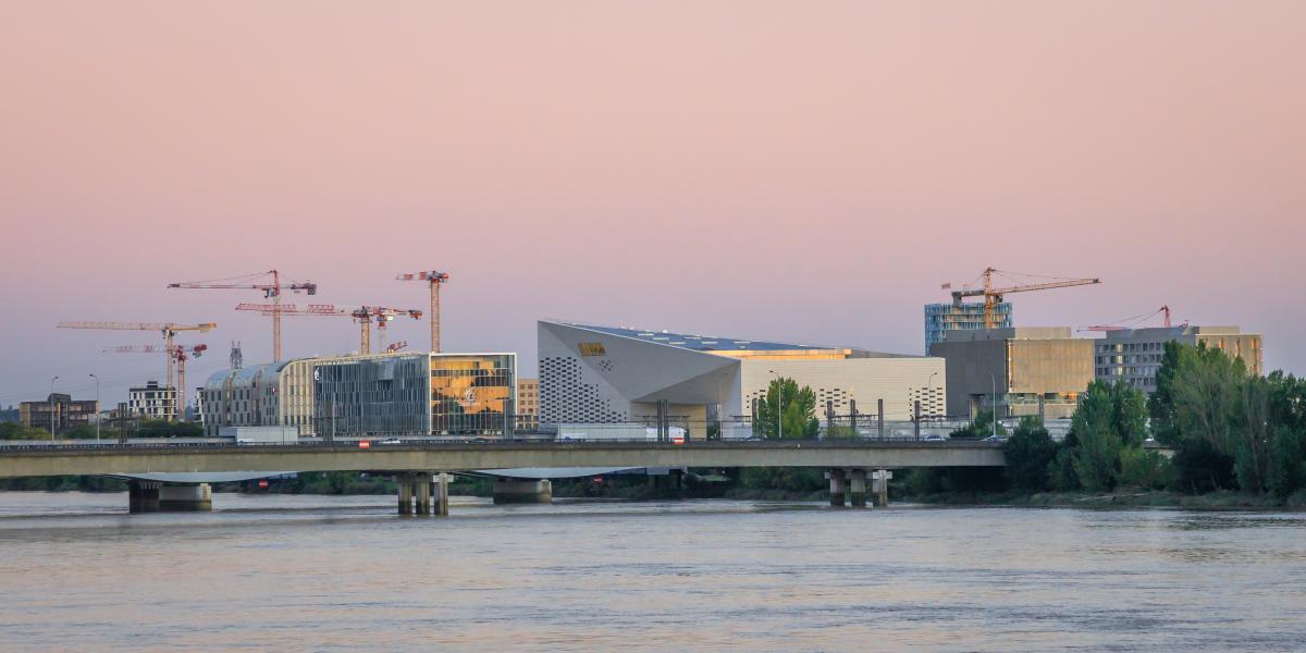 ou investir a bordeaux - le site de construction de la MECA dans le secteur Euratlantique à Bordeaux