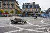 ou investir a bordeaux - la place de la Victoire à Bordeaux, près de l'université des sciences sociales