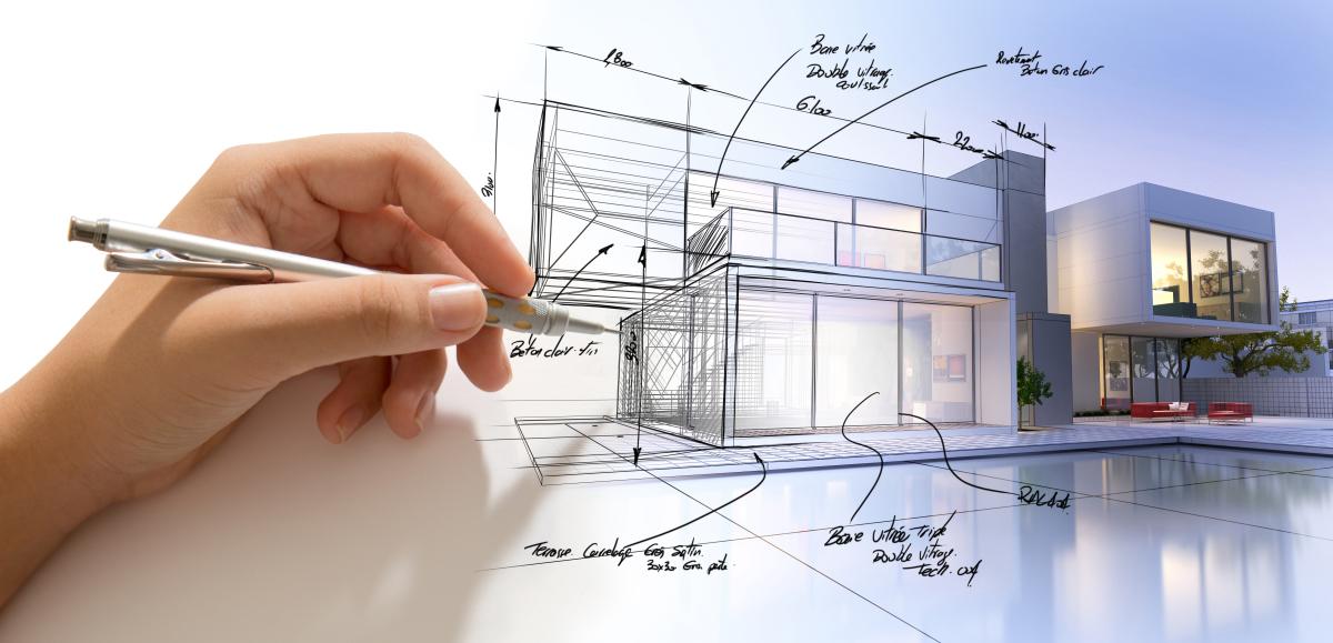 prix pritzker - un dessin d'architecte d'une villa