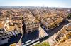 effondrement-immeuble-bordeaux - vue aérienne sur Bordeaux