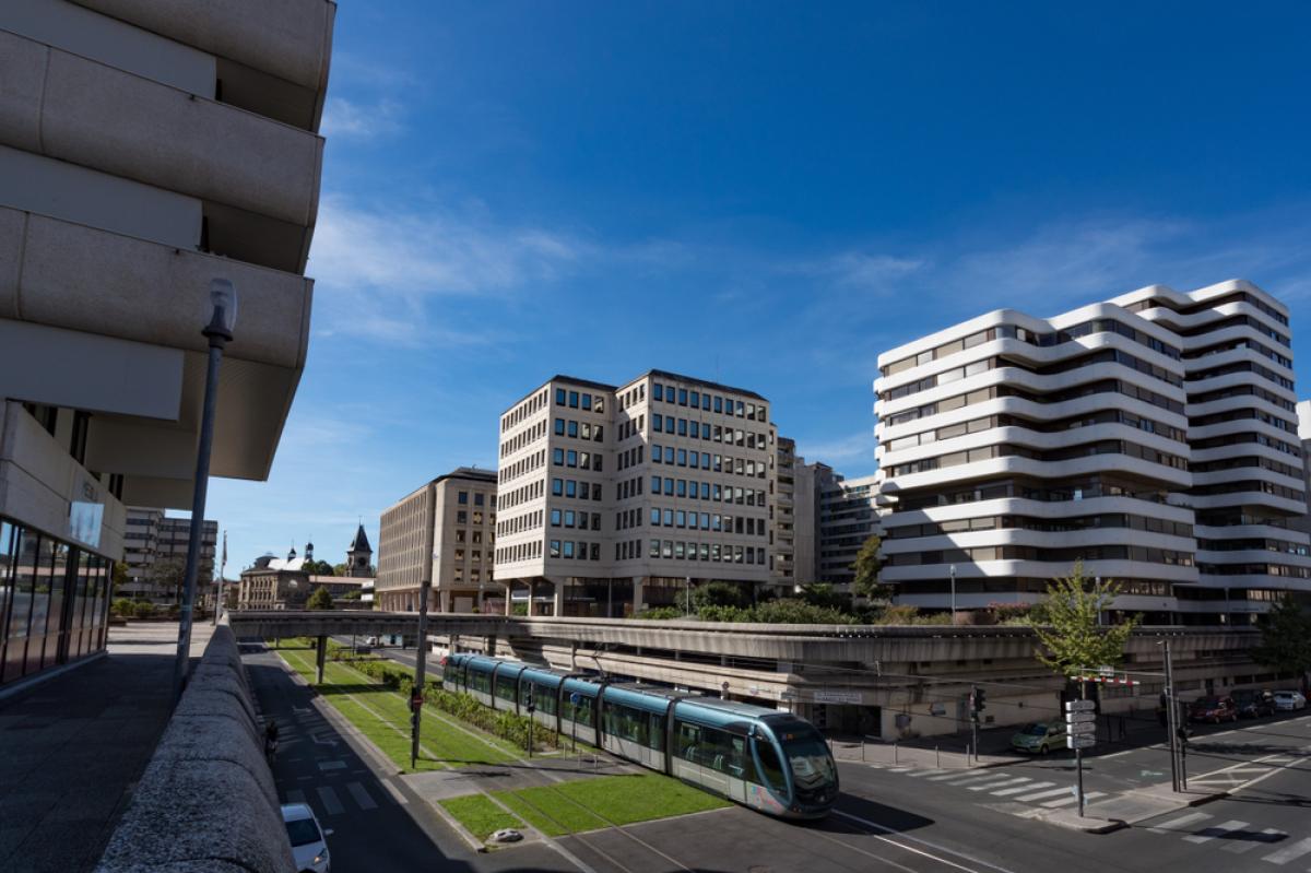 Grands projets urbains Bordeaux – Vue sur le quartier Mériadeck à Bordeaux