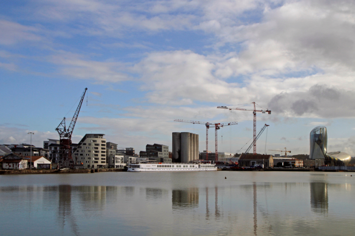 Grands projets urbains Bordeaux – vue sur les chantiers de Bassin à flot